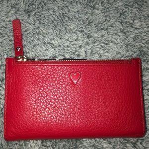 🧨NWOT Kate Spade red hearts wallet